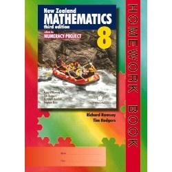 New Zealand Mathematics 8 Homework Book, Richard Ramsay Tim