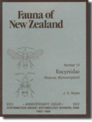 Fauna of New Zealand Number 13