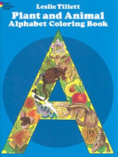 Plant and Animal Alphabet Colouring Book
