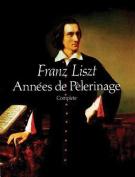 Alfred 06-256278 Annes de Pelerinage - Music Book