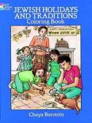 Jewish Holidays and Traditions Colouring Book