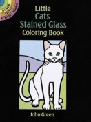 Little Cats Stained Glass Coloring Book