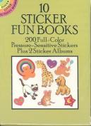 10 Sticker Fun Books