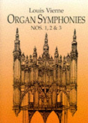 Alfred 06-294056 Organ Symphonies Nos. 1- 2 and 3. - Music Book