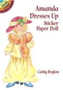 Amanda Dresses Up Sticker Paper Doll