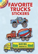 Favourite Trucks Stickers
