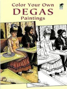 Color Your Own Degas Paintings