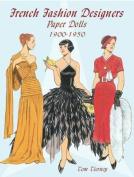 French Fashion Designers Paper Dolls