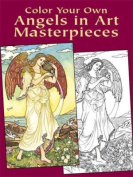 Color Your Own Angels in Art Master