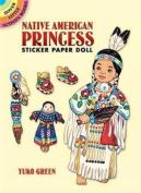 Native American Princess Sticker Paper Doll