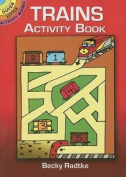 Trains Activity Book (Dover Little Activity Books