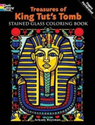 Treasures of King Tut's Tomb Stained Glass Colouring Book