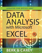 Data Analysis with Microsoft Excel(tm)