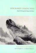 Inscribed Landscapes