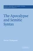 The Apocalypse and Semitic Syntax
