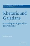 Rhetoric and Galatians