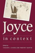 Joyce in Context