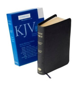 KJV Pocket Reference Edition KJ242:XR Dark Grey Imitation Leather