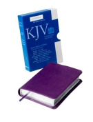 KJV Pocket Reference Edition KJ242:XR Purple Imitation Leather