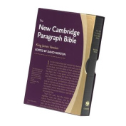 New Cambridge Paragraph Bible KJ595:T Black Calfskin