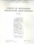 Corpus of Mycenaean Inscriptions from Knossos