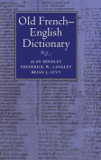 Old French-English Dictionary