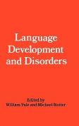 Language Development and Disorders (Clinics in Developmental Medicine