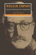 William Empson: Essays on Renaissance Literature