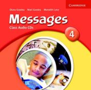 Messages 4 Class Audio CDs [Audio]