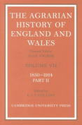The Agrarian History of England and Wales 2 Volume Hardback Set