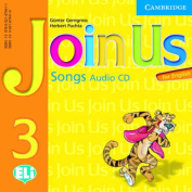 Join Us for English 3 Songs Audio CD [Audio]
