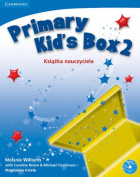 Primary Kid's Box Level 2 Teacher's Book with Audio CD Polish Edition