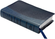 KJV Personal Concord Reference Edition KJ462:XR Blue Two-tone Imitation Leather