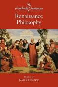 The Cambridge Companion to Renaissance Philosophy
