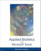 Applied Statistics (with Microsoft Excel ) [With CDROM]