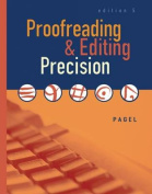 Proofreading & Editing Precision [With CDROM]