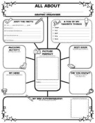 Graphic Organizer Posters: All-About-Me Web
