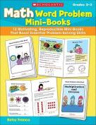Math Word Problem Mini-Books, Grades 2-3
