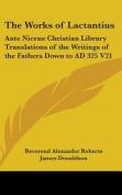The Works of Lactantius