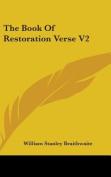 The Book of Restoration Verse V2