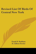 Revised List of Birds of Central New York