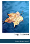 Essays Aesthetical [Large Print]