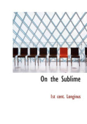 On the Sublime [Large Print]