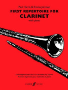 Alfred 12-0571521657 First Repertoire for Clarinet - Music Book