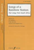 Alfred 12-0571523382 Songs of a Rainbow Nation - Music Book
