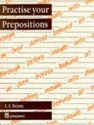 Practise Your Prepositions Paper
