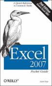 Excel 2007: Pocket Guide