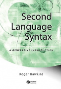 Second Language Syntax