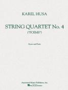 String Quartet No. 4: Poems