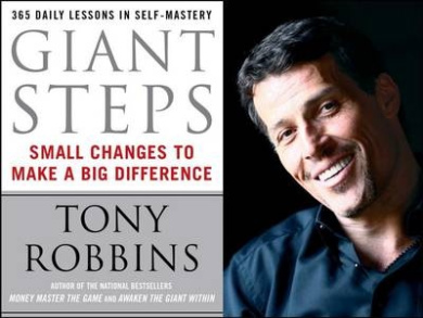 "Giant Steps: Daily Lessons in Self-mastery from ""Awaken the Giant within"""
